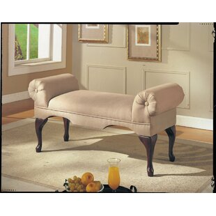 Charlton Home Saechao Upholstered Bench