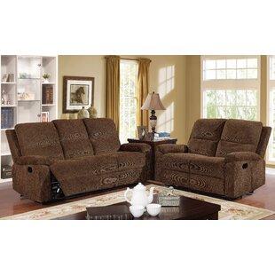 Winston Porter Kibler Transitional Reclining Recliner Living Room Set