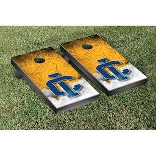 Victory Tailgate NCAA Ithaca Bombers Vintage Version Cornhole Game Set