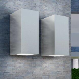 Hillard LED Outdoor Wall Light (Set Of 2) Image