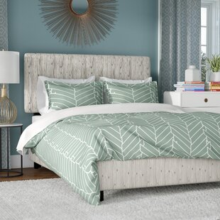 Mercury Row Buhr Linen Upholstered Panel Bed