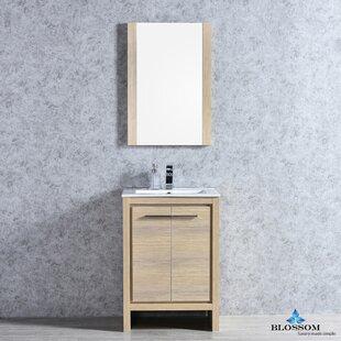 Artemis Modern 23 Single Bathroom Vanity Set with Mirror by Ivy Bronx