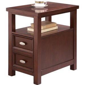 altitude end table with storage