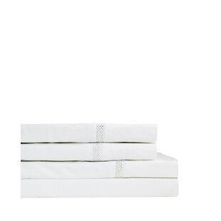 August Grove Flanigan 300 Thread Count Percale Sheet Set