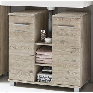 Haylee 70cm Free-Standing Under Sink Storage Unit By Zipcode Design