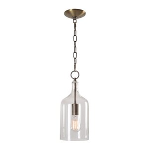 Clematite 1-Light Inverted Pendant by Laurel Foundry Modern Farmhouse