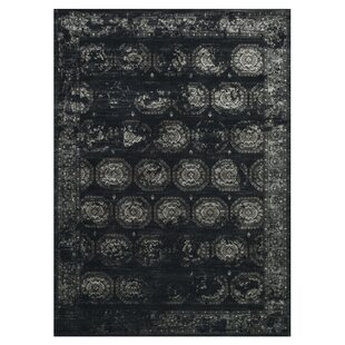 Durdham Park Black/Charcoal Area Rug By Darby Home Co