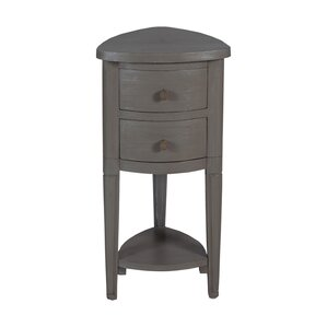 Delphine�Corner End Table by Breakwater Bay