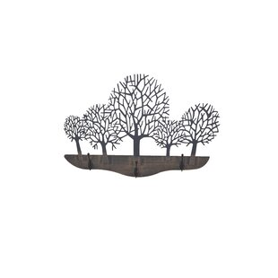 Xavier Wall Mounted Coat Rack By August Grove