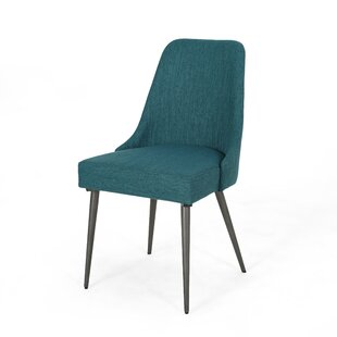 Liquiçá Upholstered Dining Chair (Set of 2) by Wrought Studio