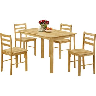 Warrenton Dining Set With 4 Chairs By Alpen Home