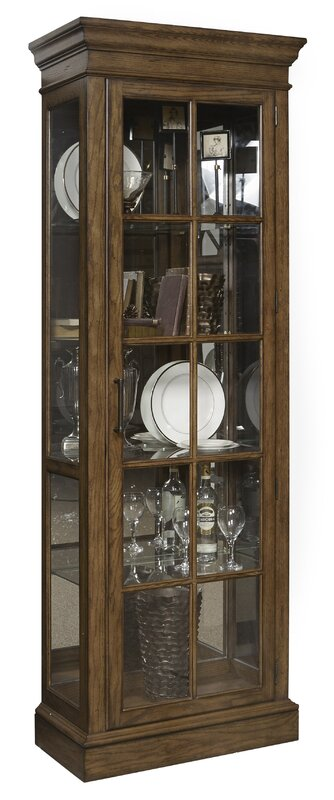 Colby Mirrored Display Cabinet & Reviews | Joss & Main
