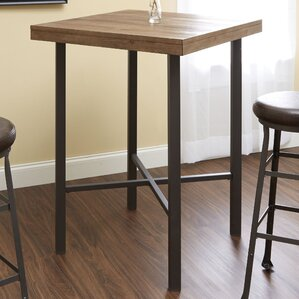 Kade Industrial Pub Table by Williston Forge