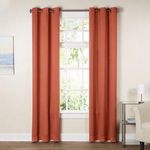 Tangerine Curtains Wayfair