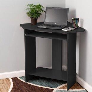 Hanneman Compact Corner Computer Desk