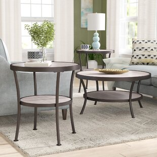 Wragby 3 Piece Coffee Table and End Table Set