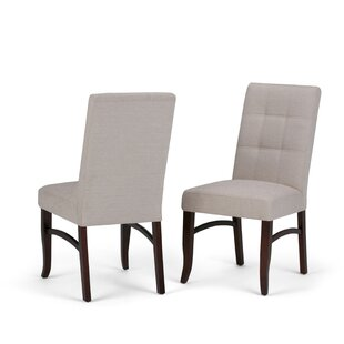 Ezra Deluxe Upholstered Dining Chair Set Of 2