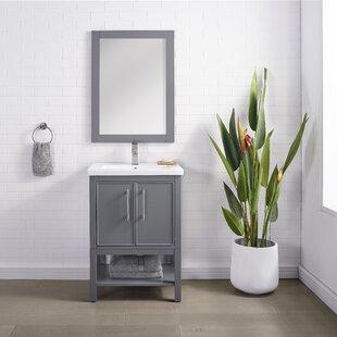 Briaca 24 Single Bathroom Vanity Set