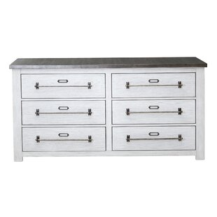 Aahil 6 Drawer Double Dresser