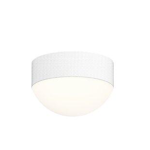 Latitude Run Algarin 1-Light LED Flush Mount