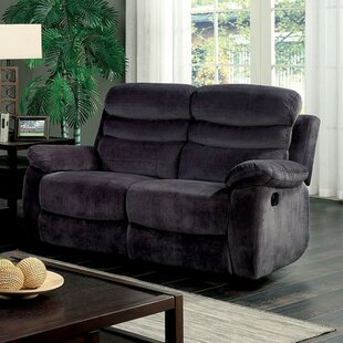 Magoon Traditional Upholstered Reclining Loveseat by Red Barrel Studio