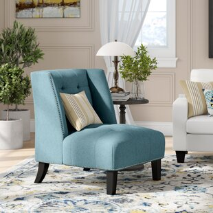 Friar Tufted Wingback Chair by Charlton Home