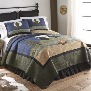 Millwood Pines Jacoby Bear Single Reversible Quilt