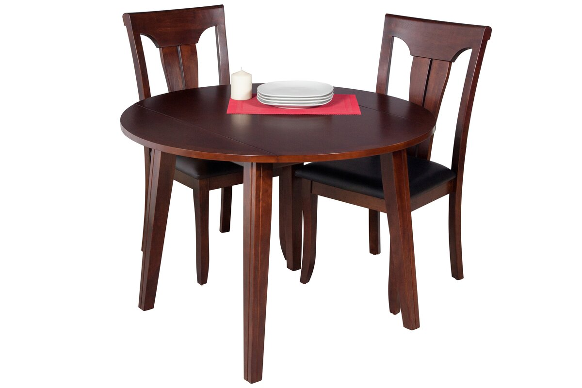 dinh modern  piece drop leaf dining set. latitude run dinh modern  piece drop leaf dining set  reviews