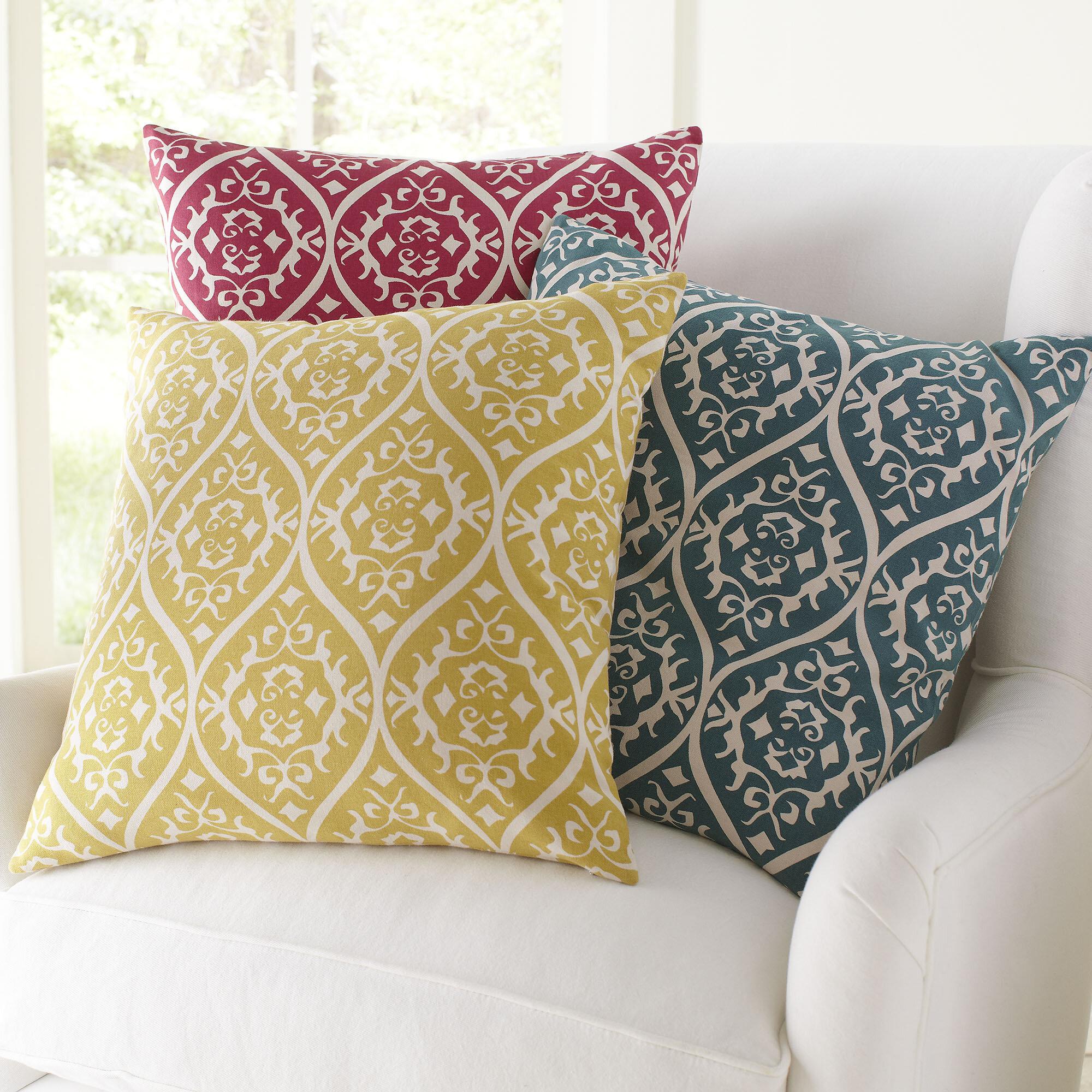 birch lane™ daisy cotton pillow cover & reviews | birch lane Cotton Pillow