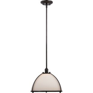 Winston Porter Drown 1-Light Bowl Pendant