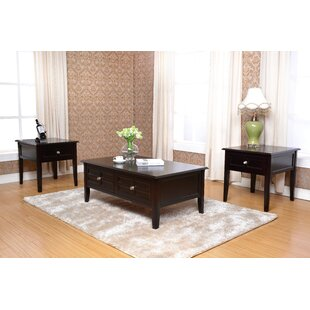 Solana 3 Piece Coffee Table Set