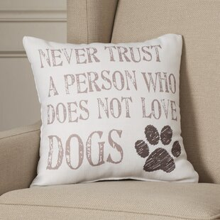 Doggy Dog Lover Throw Pillow