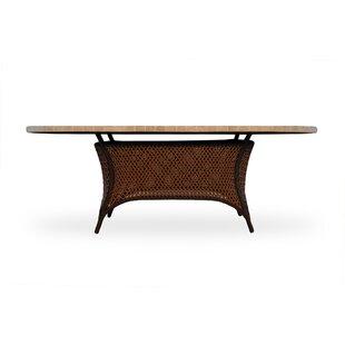 Lloyd Flanders Grand TraverseWicker Rattan Dining Table