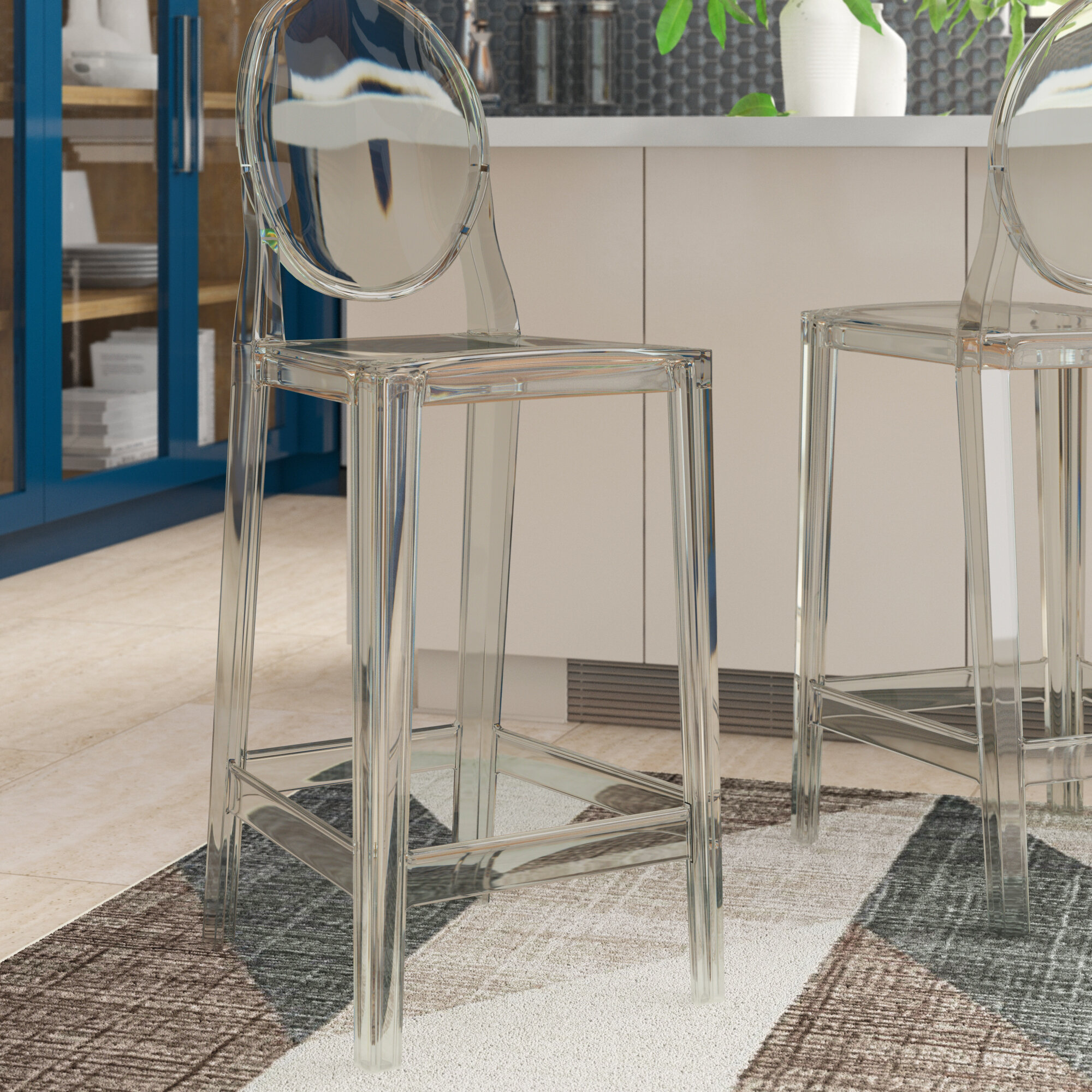 Kartell Ghost Bar Counter Stool Reviews