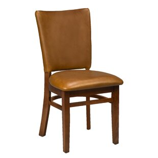 Chesebrough Beechwood Seat Upholstered Dining Chair Loon Peak
