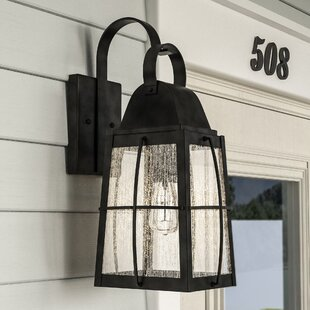 Darby Home Co Beamer 1-Light Outdoor Wall Lantern