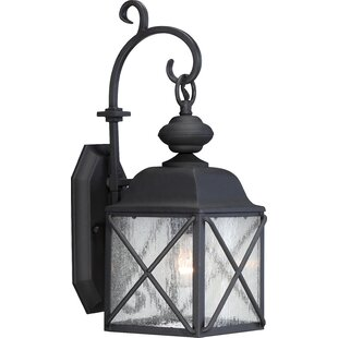 Topeka 1-Light Outdoor Wall Lantern by Three Posts