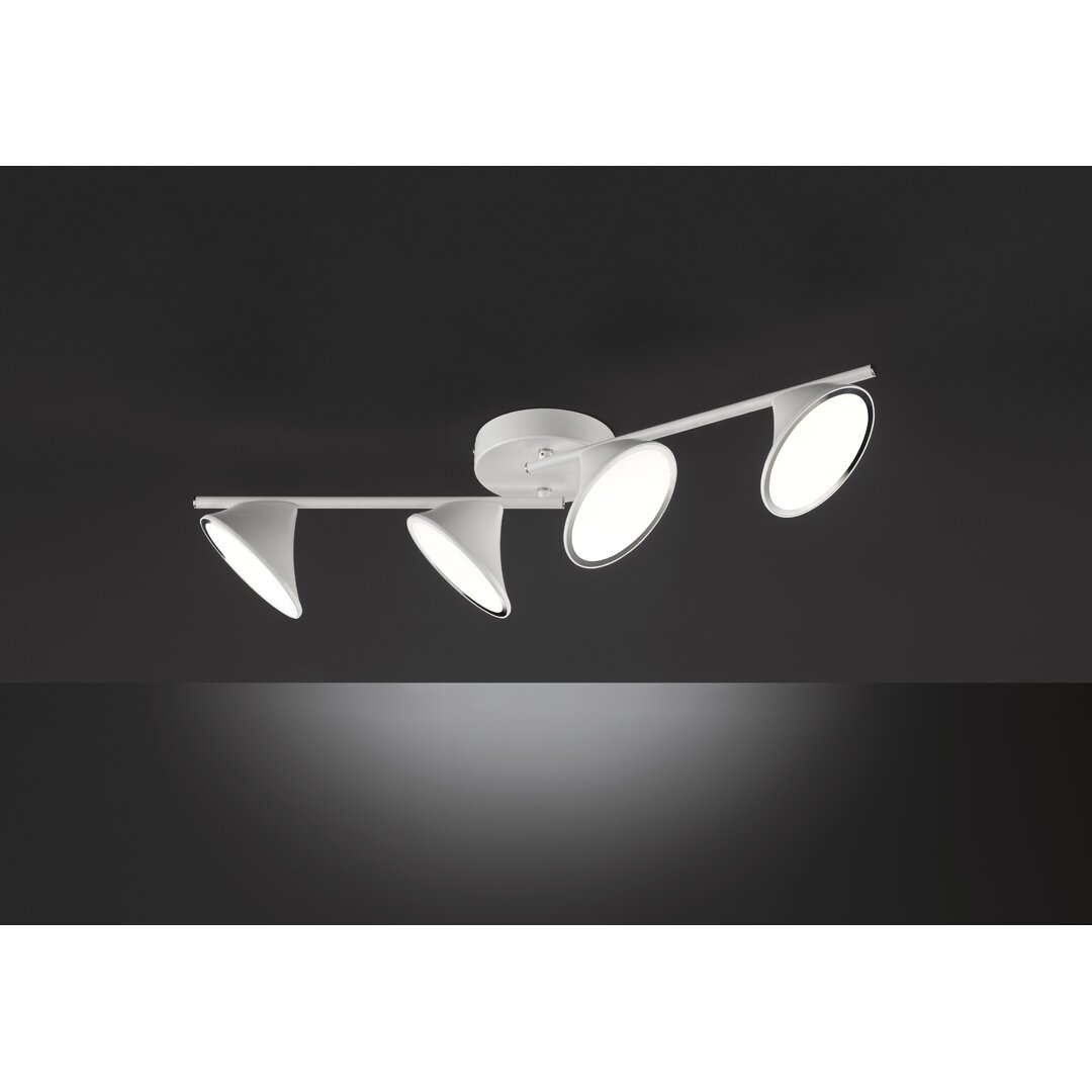 Claypoole 4-Light 15cm LED Ceiling Spotlight