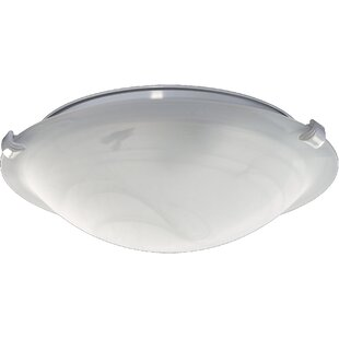 Reviews 2-Light Bowl Ceiling Fan Light Kit By Quorum