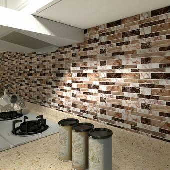 Smart Tiles Milenza9 X 10 Gel Peel Stick Mosaic Tile Reviews Wayfair