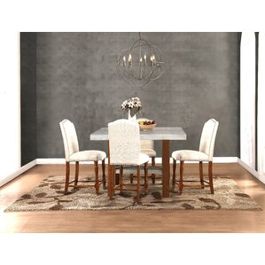 Yuqi 5 Piece Dining Set by Gracie Oaks