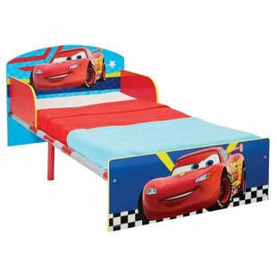 Gracela Cars 70 X 140cm Covertible Toddler Bed By Zoomie Kids
