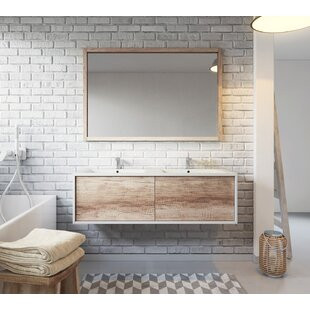 Lexie 1200mm Wall Hung Double Vanity Unit By Belfry Bathroom
