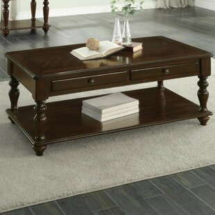 Canora Grey Aquinas Wooden Coffee Table