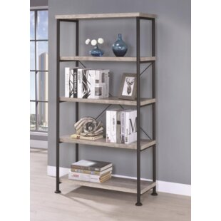 Cifuentes Single Etagere Bookcase Williston Forge
