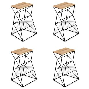 Abeilles 76cm Bar Stool (Set Of 4) By 17 Stories