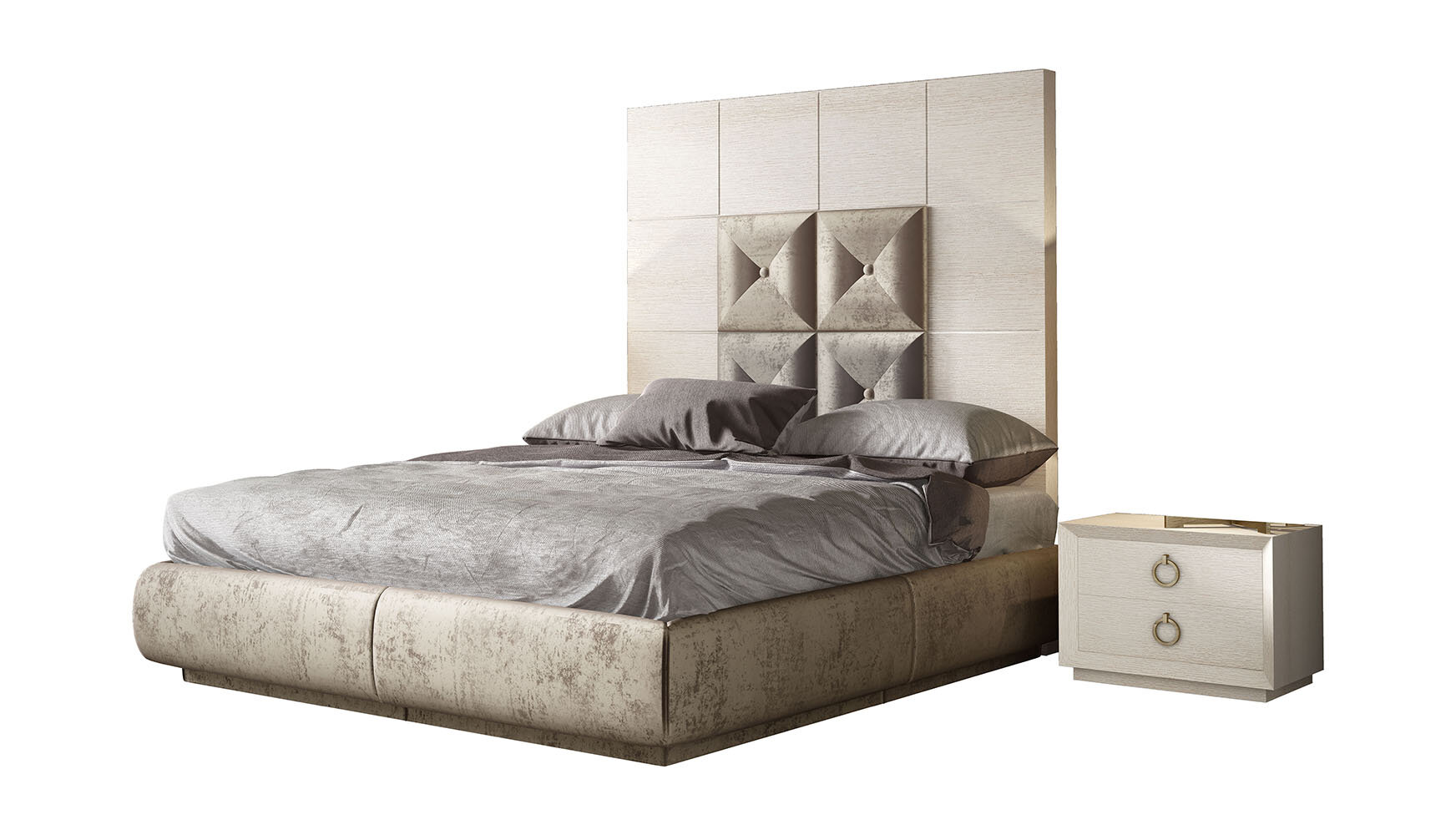 Hispania Home London Bedor73 Bedroom Set 3 Pieces Wayfair