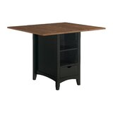 Mahendra Counter Height Drop Leaf Dining Table by Gracie Oaks