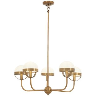 Mercer41 Philippa 5-Light Shaded Chandelier