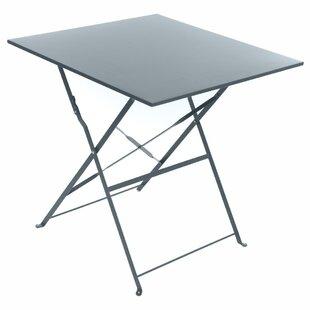 Check Price Nifelheim Folding Steel Bistro Table